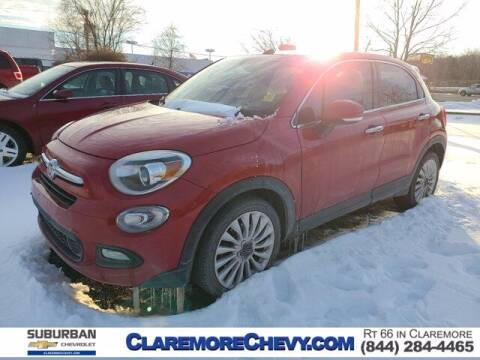 2016 FIAT 500X for sale at Suburban Chevrolet in Claremore OK
