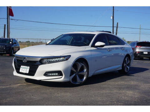 2018 Honda Accord for sale at Maroney Auto Sales in Humble TX