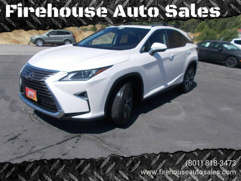 2018 Lexus RX 350 for sale at Firehouse Auto Sales in Springville UT