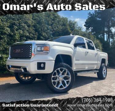 2015 GMC Sierra 1500 for sale at Omar's Auto Sales in Martinez GA
