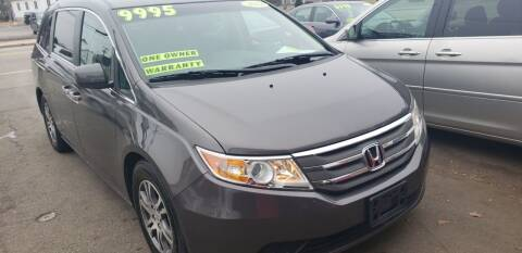 2012 Honda Odyssey for sale at TC Auto Repair and Sales Inc in Abington MA