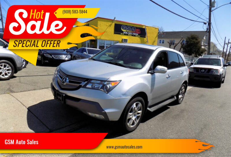 2007 Acura MDX for sale at GSM Auto Sales in Linden NJ