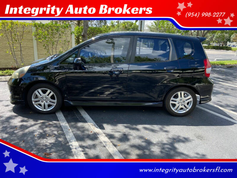 2007 Honda Fit for sale at Integrity Auto Brokers in Pompano Beach FL