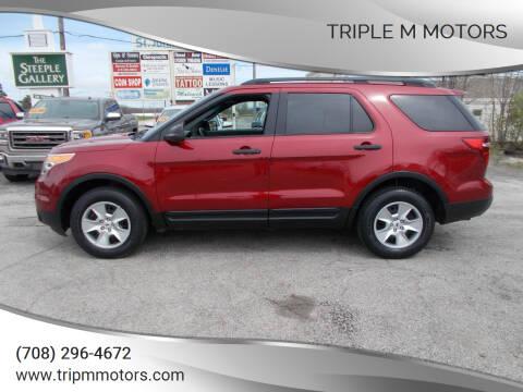 2014 Ford Explorer for sale at Triple M Motors in Saint John IN