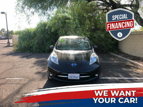 2012 Nissan LEAF for sale at UR APPROVED AUTO SALES LLC in Tempe AZ