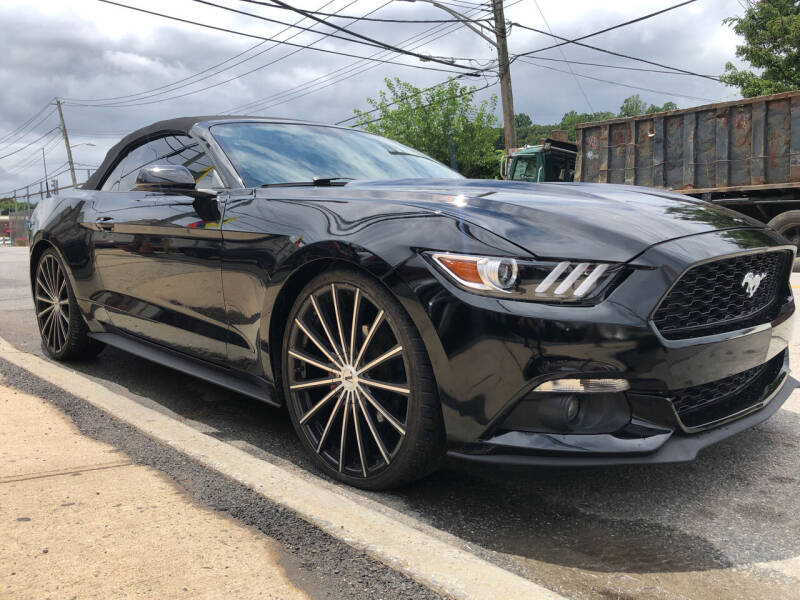2015 Ford Mustang for sale at Deleon Mich Auto Sales in Yonkers NY