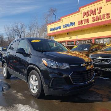 2020 Chevrolet Trax for sale at Popas Auto Sales in Detroit MI