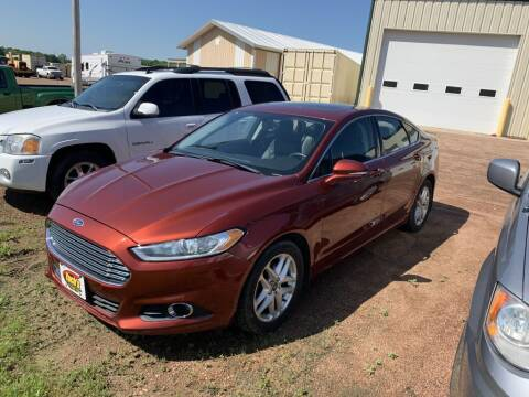 2014 Ford Fusion for sale at Yachs Auto Sales and Service in Ringle WI