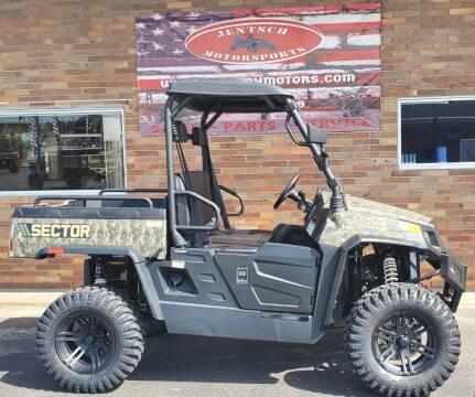 2021 HISUN SECTOR 550 W/EPS for sale at JENTSCH MOTORS in Hearne TX