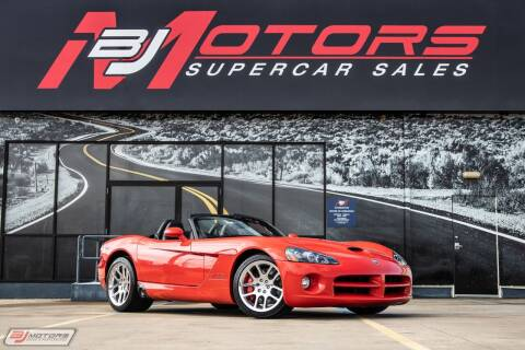 2004 Dodge Viper for sale at BJ Motors in Tomball TX