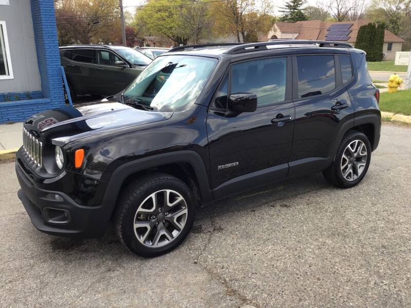 2017 Jeep Renegade for sale at One Price Auto in Mount Clemens MI