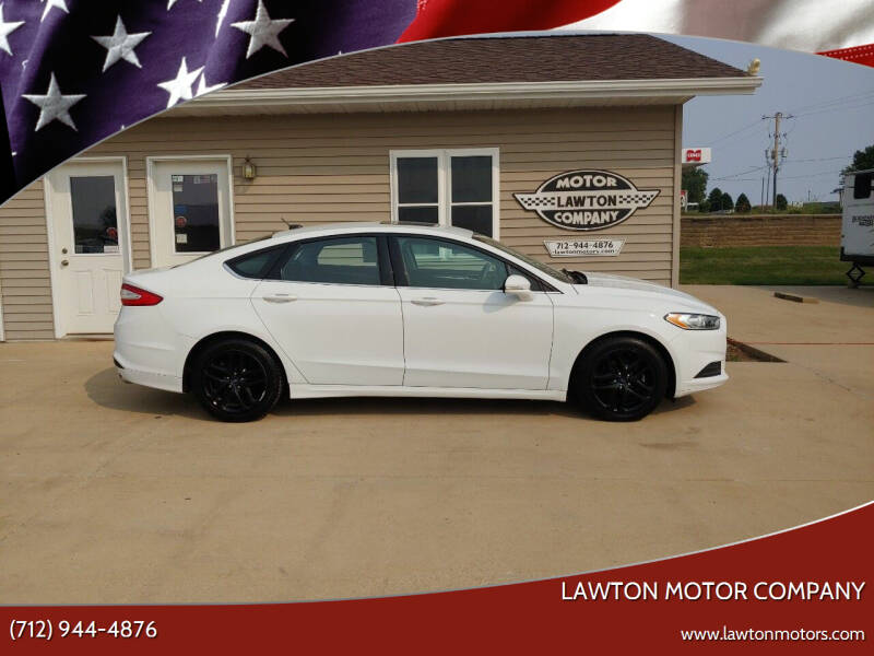 2016 Ford Fusion for sale at Lawton Motor Company in Lawton IA