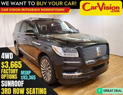 2019 Lincoln Navigator L for sale at Car Vision Mitsubishi Norristown in Trooper PA