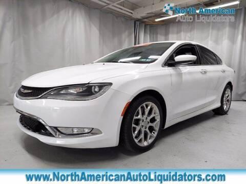 2015 Chrysler 200 for sale at North American Auto Liquidators in Essington PA