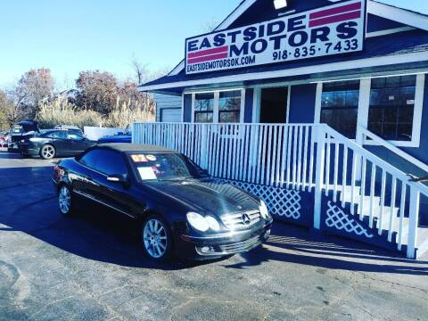 2007 Mercedes-Benz CLK for sale at EASTSIDE MOTORS in Tulsa OK