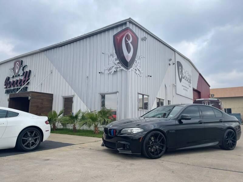 2014 BMW 5 Series for sale at Barrett Auto Gallery in San Juan TX