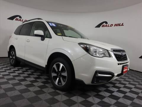2018 Subaru Forester for sale at Bald Hill Kia in Warwick RI