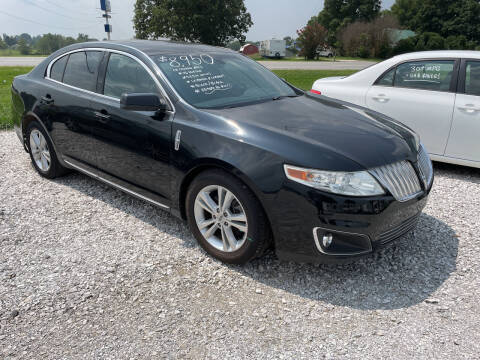 2009 Lincoln MKS for sale at Champion Motorcars in Springdale AR
