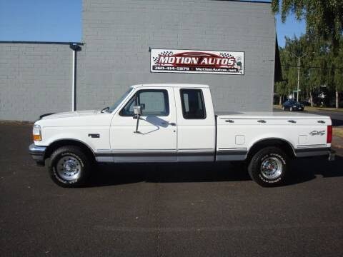 1994 Ford F-150 for sale at Motion Autos in Longview WA