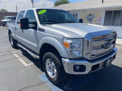 2015 Ford F-250 Super Duty for sale at Robert Judd Auto Sales in Washington UT