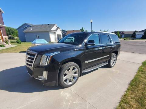 2017 Cadillac Escalade for sale at GOOD NEWS AUTO SALES in Fargo ND