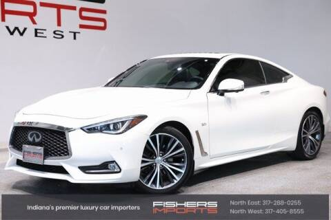 2017 Infiniti Q60 for sale at Fishers Imports in Fishers IN
