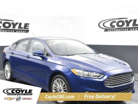 2014 Ford Fusion for sale at COYLE GM - COYLE NISSAN - New Inventory in Clarksville IN