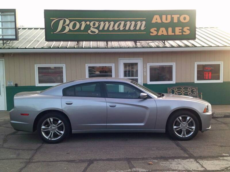 2014 Dodge Charger for sale at Borgmann Auto Sales in Norfolk NE