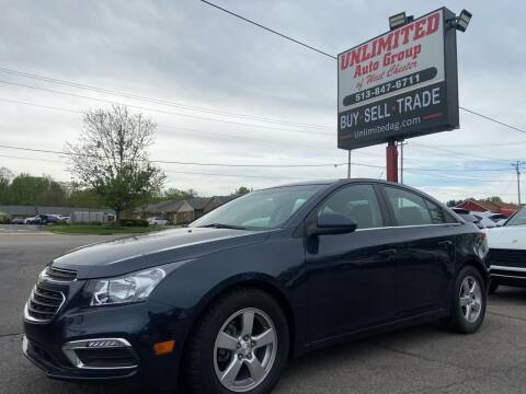 2016 Chevrolet Cruze Limited for sale at Unlimited Auto Group in West Chester OH