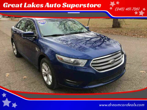 2013 Ford Taurus for sale at Great Lakes Auto Superstore in Pontiac MI