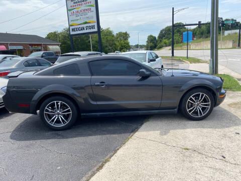 2007 Ford Mustang for sale at Brian Jones Motorsports Inc in Danville VA