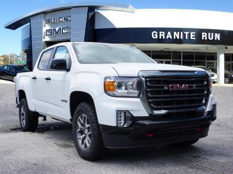 2021 GMC Canyon for sale at GRANITE RUN PRE OWNED CAR AND TRUCK OUTLET in Media PA