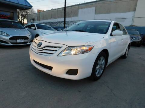 2010 Toyota Camry for sale at AMD AUTO in San Antonio TX