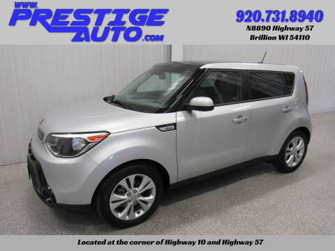 2016 Kia Soul for sale at Prestige Auto Sales in Brillion WI