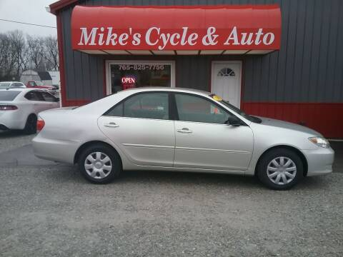 2006 Toyota Camry for sale at MIKE'S CYCLE & AUTO in Connersville IN
