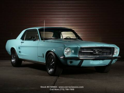 1967 Ford Mustang for sale at Sierra Classics & Imports in Reno NV