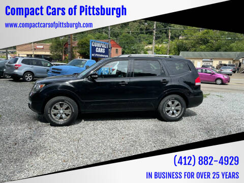2009 Kia Borrego for sale at Compact Cars of Pittsburgh in Pittsburgh PA