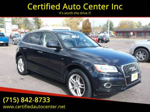 2016 Audi Q5 for sale at Certified Auto Center Inc in Wausau WI