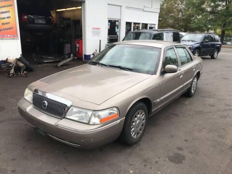 2003 Mercury Grand Marquis for sale at Vuolo Auto Sales in North Haven CT