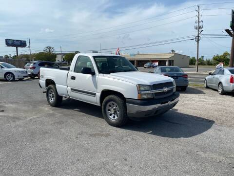2005 Chevrolet Silverado 1500 for sale at Lucky Motors in Panama City FL