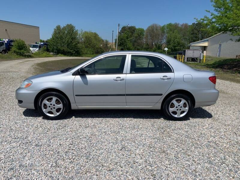 2006 Toyota Corolla for sale at MEEK MOTORS in North Chesterfield VA