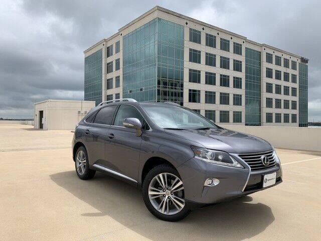 2015 Lexus RX 350 for sale at SIGNATURE Sales & Consignment in Austin TX