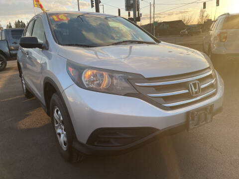 2014 Honda CR-V for sale at Low Price Auto and Truck Sales, LLC in Salem OR