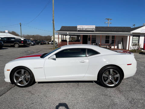 2010 Chevrolet Camaro for sale at TAVERN MOTORS in Laurens SC