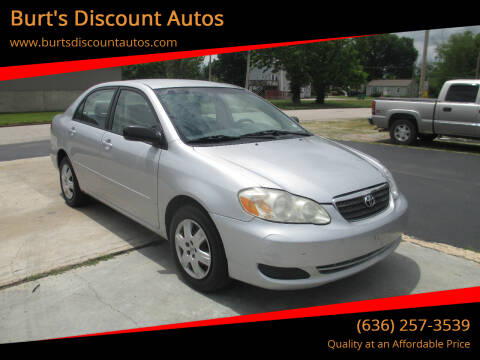 2007 Toyota Corolla for sale at Burt's Discount Autos in Pacific MO