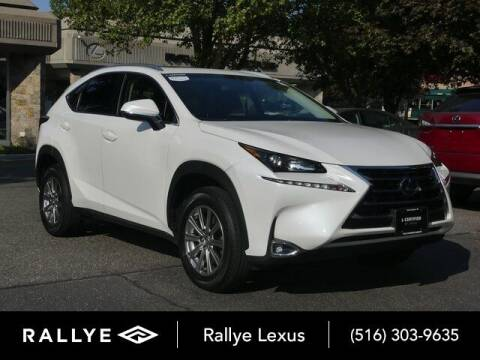 2017 Lexus NX 200t for sale at RALLYE LEXUS in Glen Cove NY