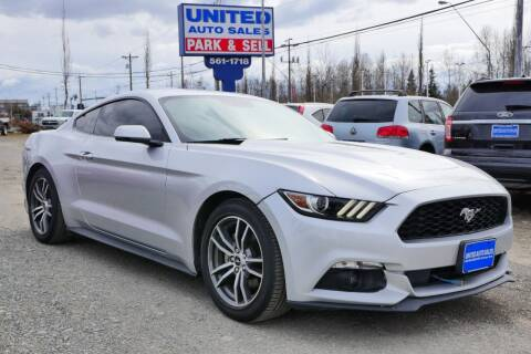 2016 Ford Mustang for sale at United Auto Sales in Anchorage AK