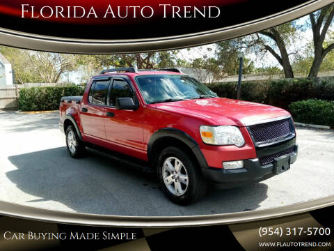 2007 Ford Explorer Sport Trac for sale at Florida Auto Trend in Plantation FL