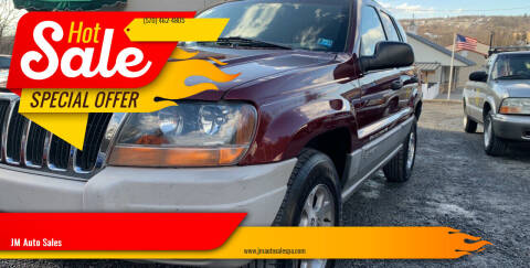 2000 Jeep Grand Cherokee for sale at JM Auto Sales in Shenandoah PA