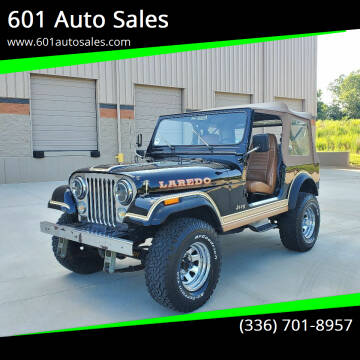 1981 Jeep CJ-7 for sale at 601 Auto Sales in Mocksville NC